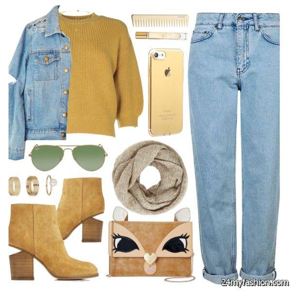 How To Wear Boyfriend Jeans During Fall Season 2020-2021