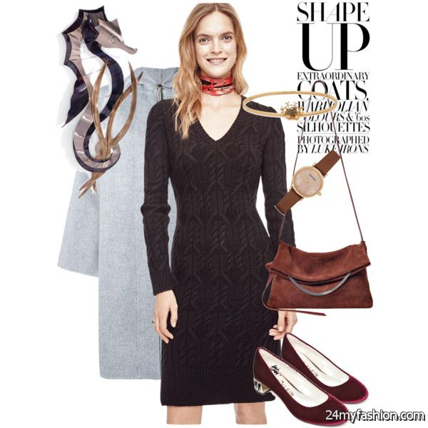 How To Wear Knitted Dresses With Different Shoes 2020-2021