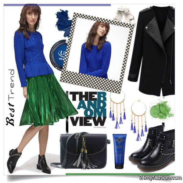 How To Wear Pleated Skirts With Ankle Boots 2020-2021