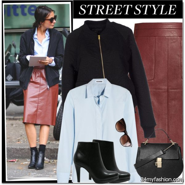 Midi Skirts With Ankle Boots: Simple And Easy To Copy Looks 2020-2021