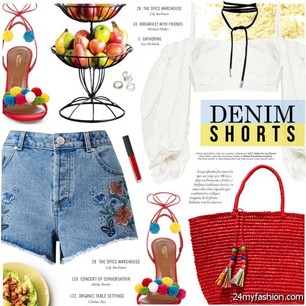 Summer Denim Shorts And How To Wear Them 2020-2021