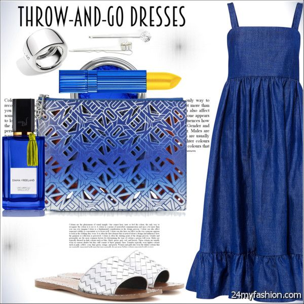 What Accessories To Wear With Blue Dresses 2020-2021