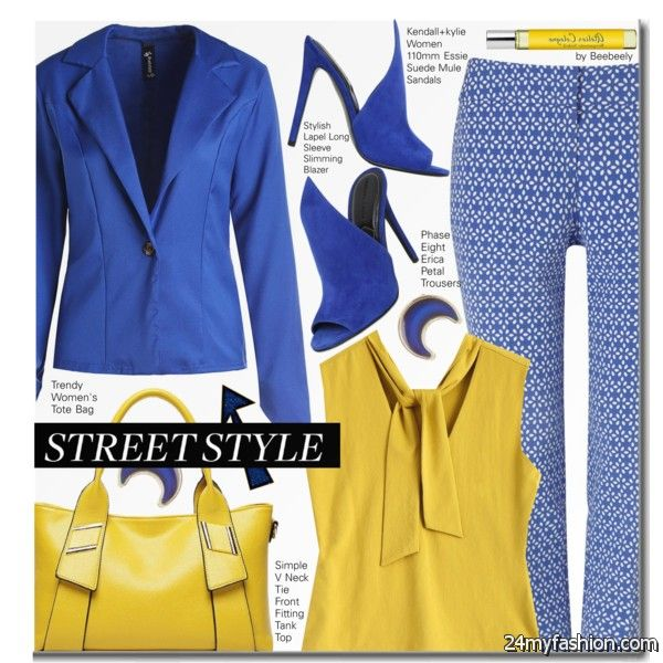 What To Wear With Blue Blazer For Women 2020-2021