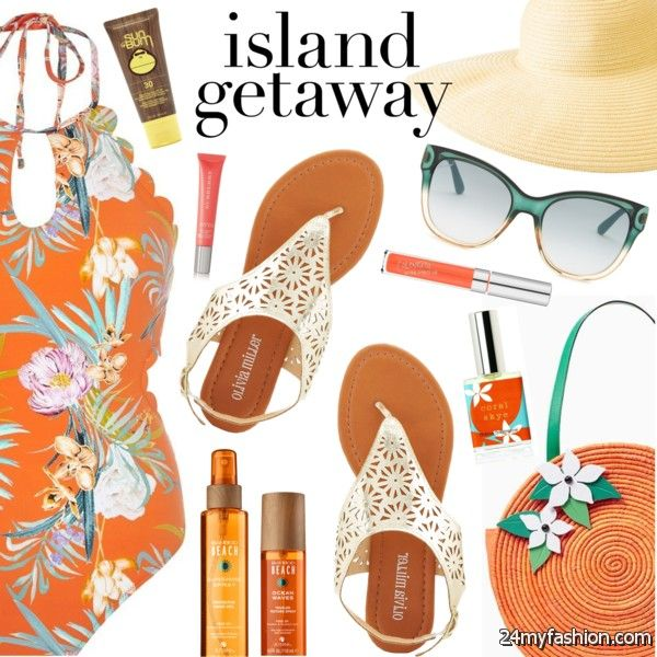 What To Wear With Floral Swimwear 2019-2020
